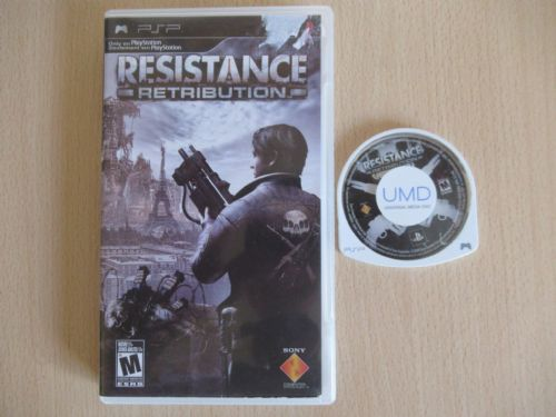 Sony Resistance Retribution (PSP)